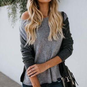 Glacial Colorblock Vici Sweater